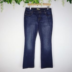 Old Navy The Diva Faded Bootcut Jeans 6 Regular